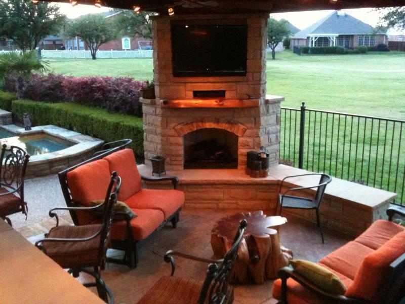 Outdoor Fireplaces Amp Pits Roofing Amp Remodeling Of Dallas